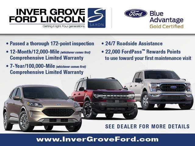 Used 2019 Ford Edge SEL with VIN 2FMPK4J95KBC62994 for sale in Inver Grove, Minnesota